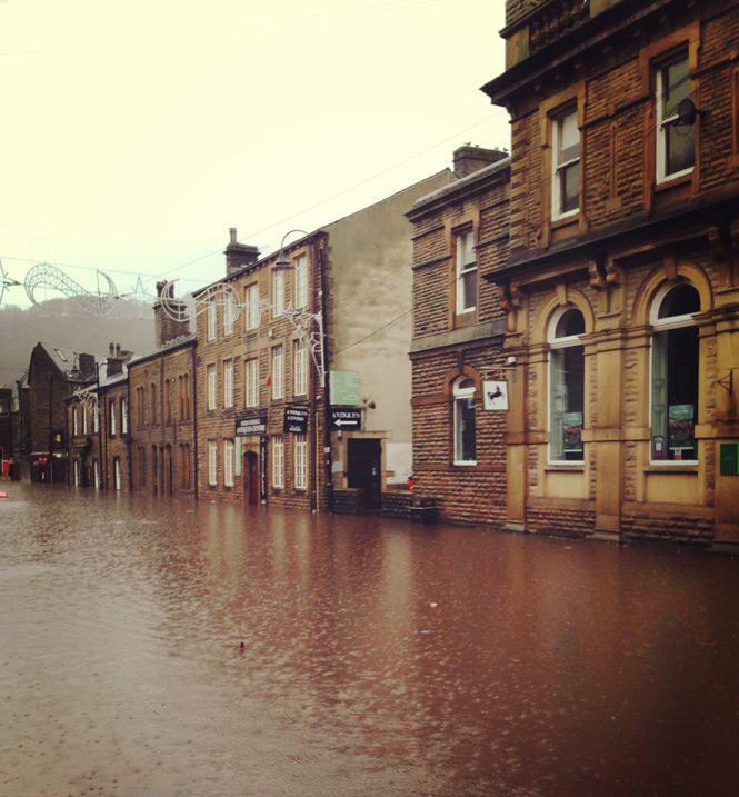 Hebden Bridge flooding